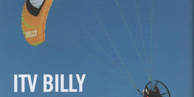 test billy paramotor 2015
